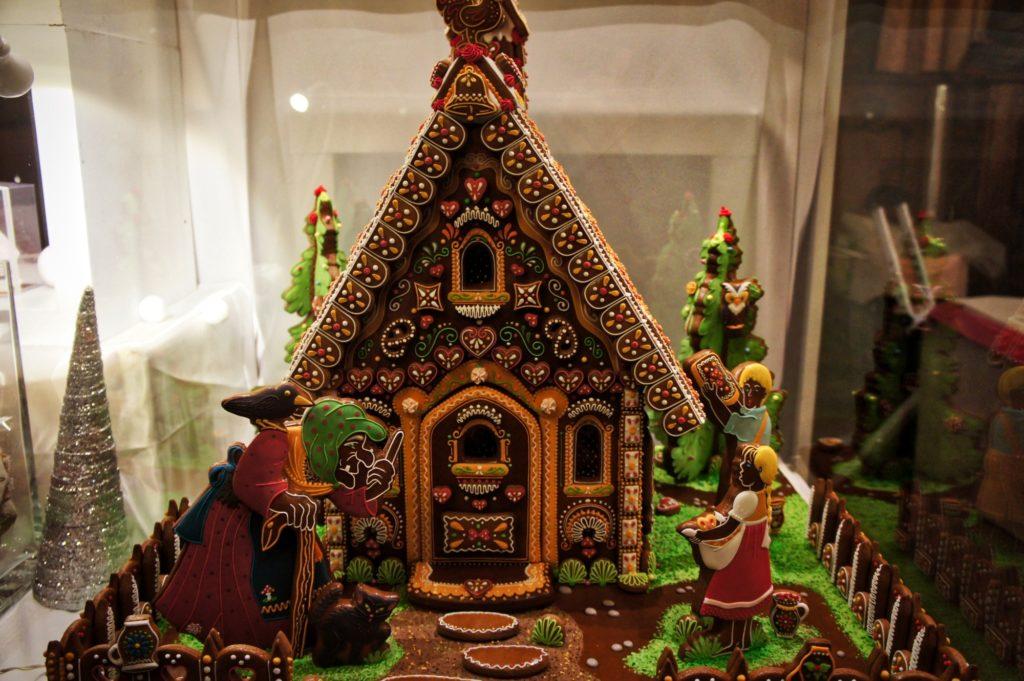 Maison en pain d'épice d'Hansel et Gretel