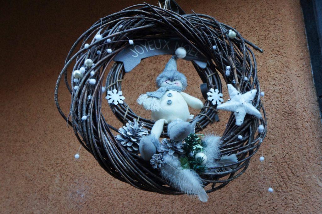 Décoration au marché de Noël d'Eguisheim