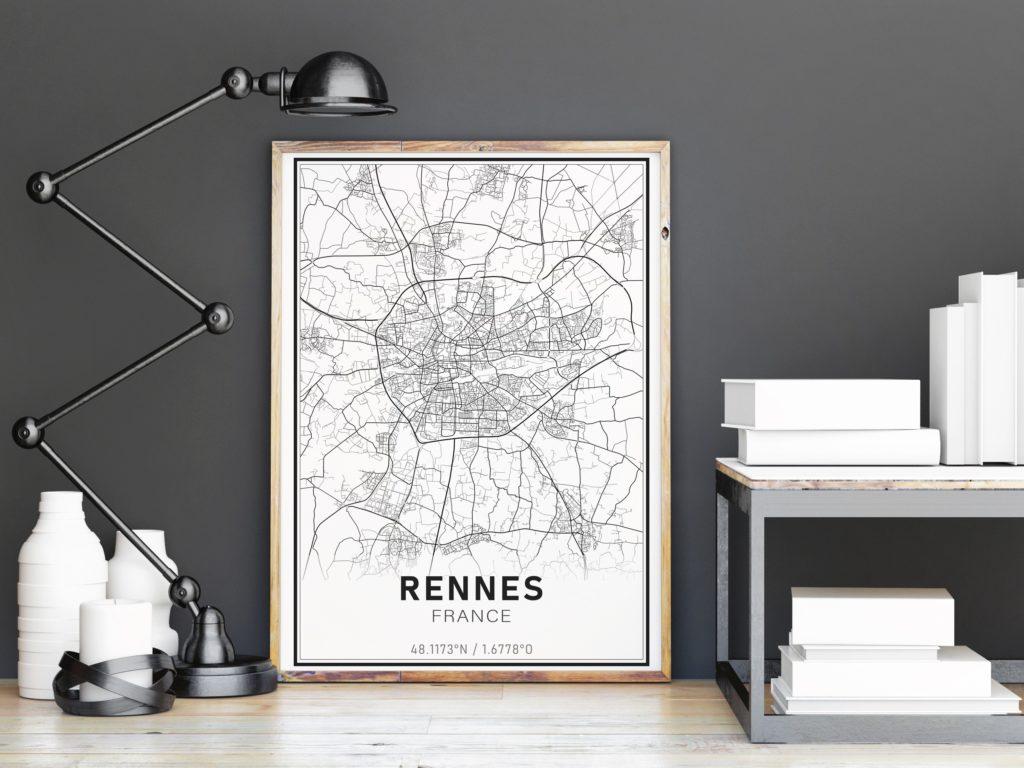 affiche design Rennes