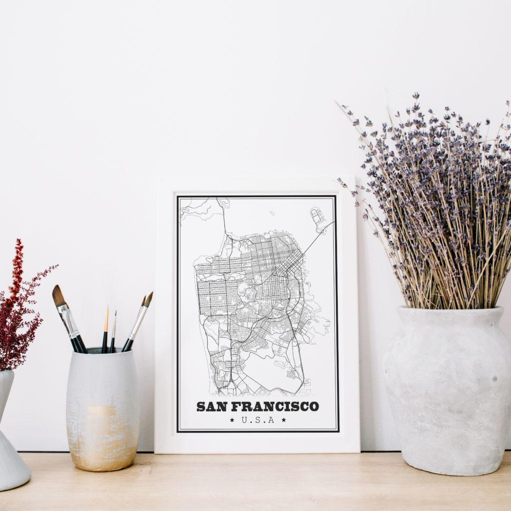 affiche design San Francisco