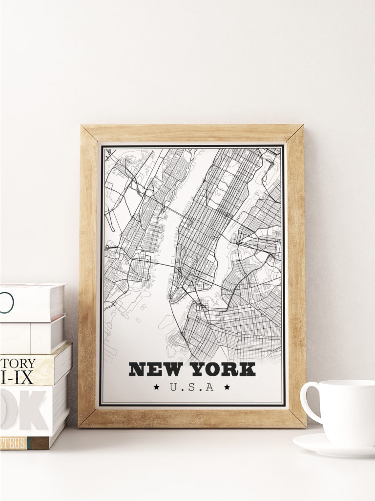 affiche design new york