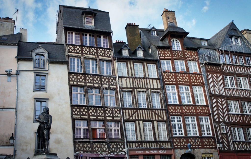 Place du Champ-Jacquet à Rennes