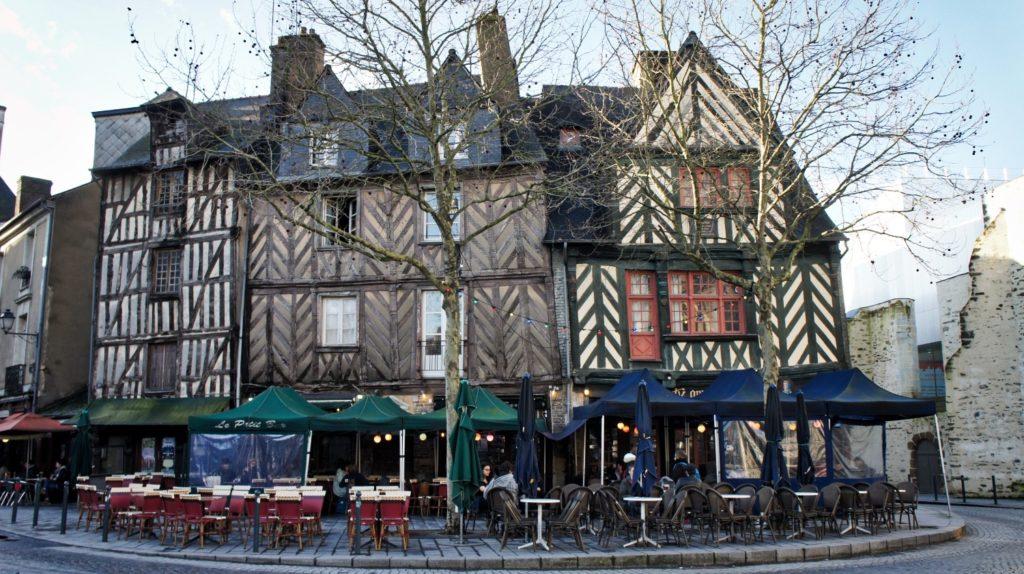 Place Saine-Anne à Rennes