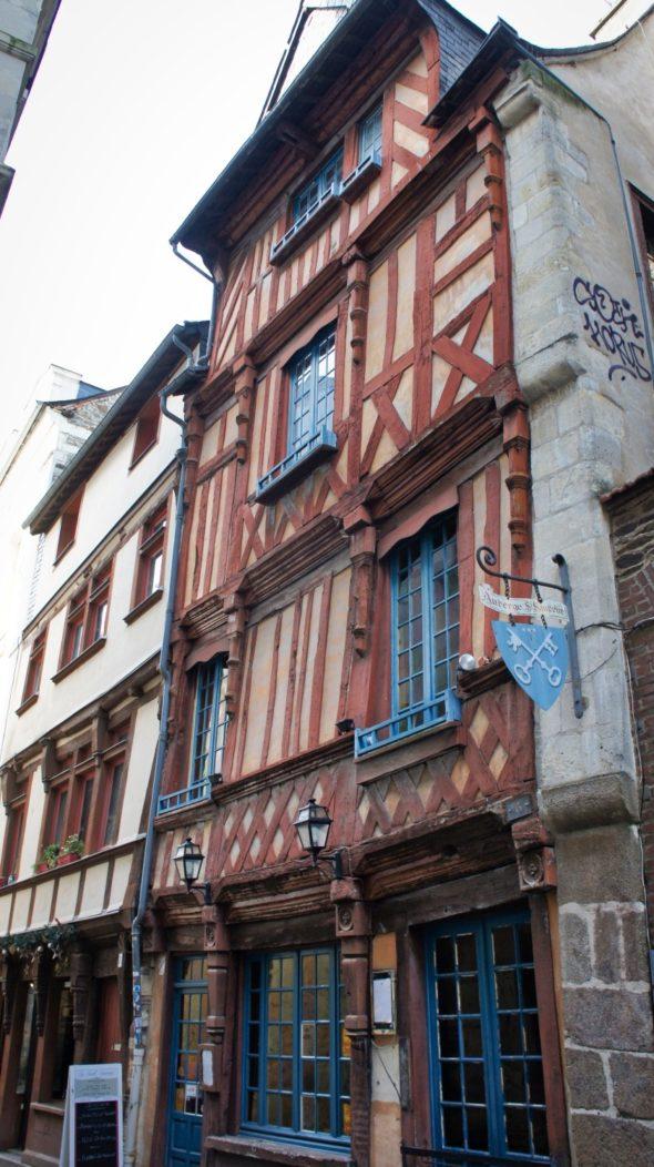 rue Saint-Sauveur à Rennes