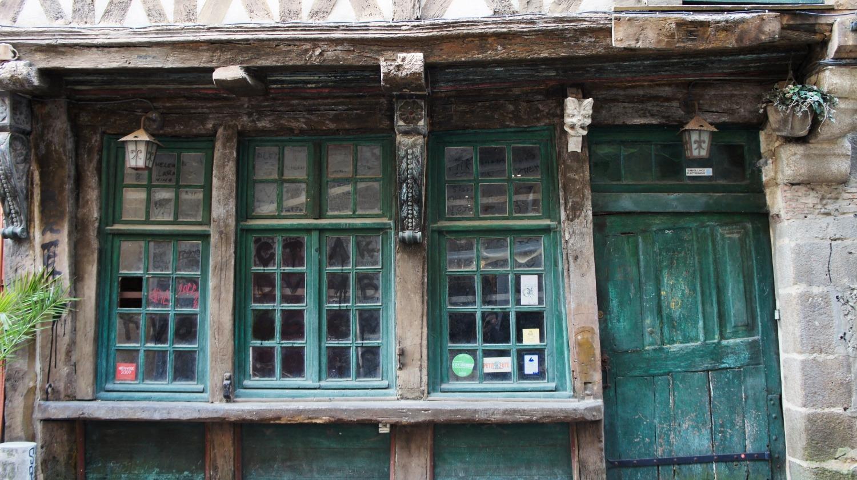 façade de maison à Rennes