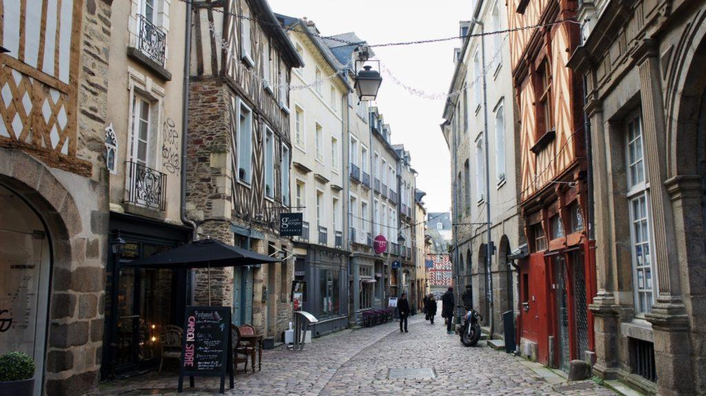 Ruelles à Rennes