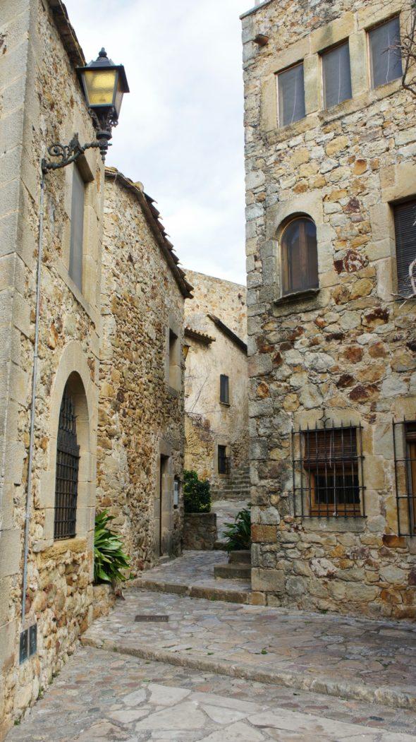 Village médiéval sur la Costa Brava