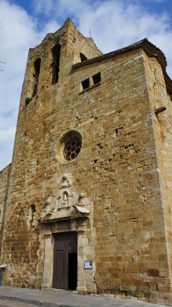 église de Pals Costa Brava