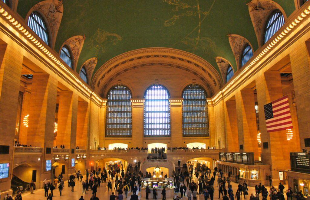 Hall central de Grand central terminal New York
