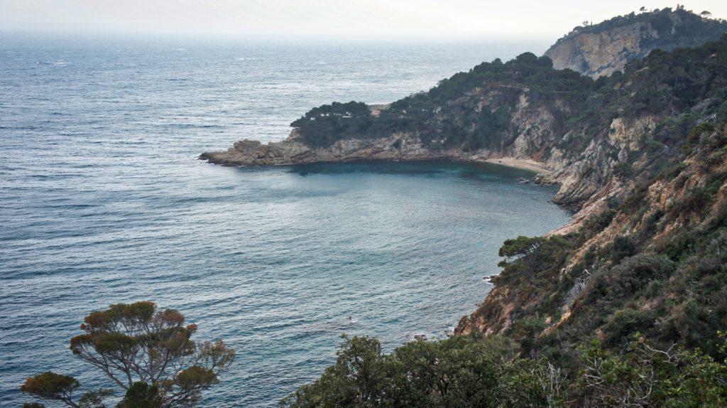 À quelques kilomètres de Tossa de Mar sur la Costa Brava