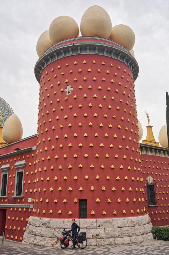 théâtre musée Dali à Figueres