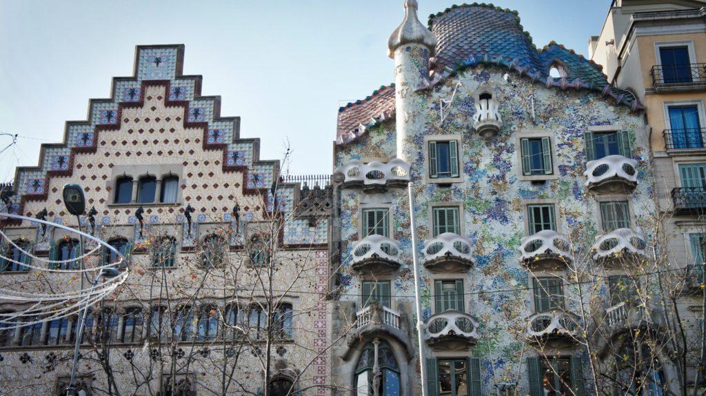 Passeig de Gracia à Barcelone