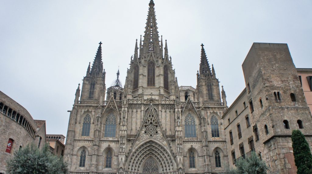Cathédrale de Santa Eulàlia Barcelone