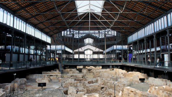 Les fouilles archéologiques retrouvées au centre d'El Born à Barcelone