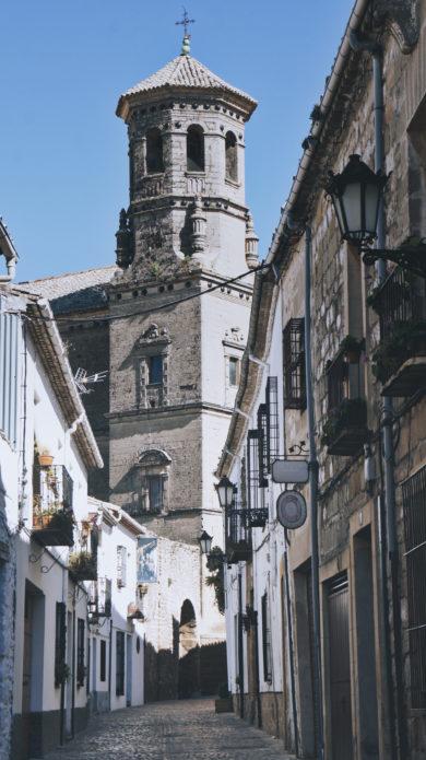 Ruelle à Baeza Andalousie