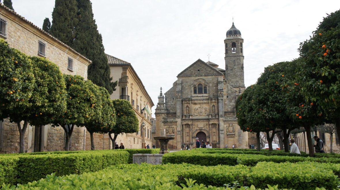 Plaza Vázquez de Molina, Ubeda en Andalousie