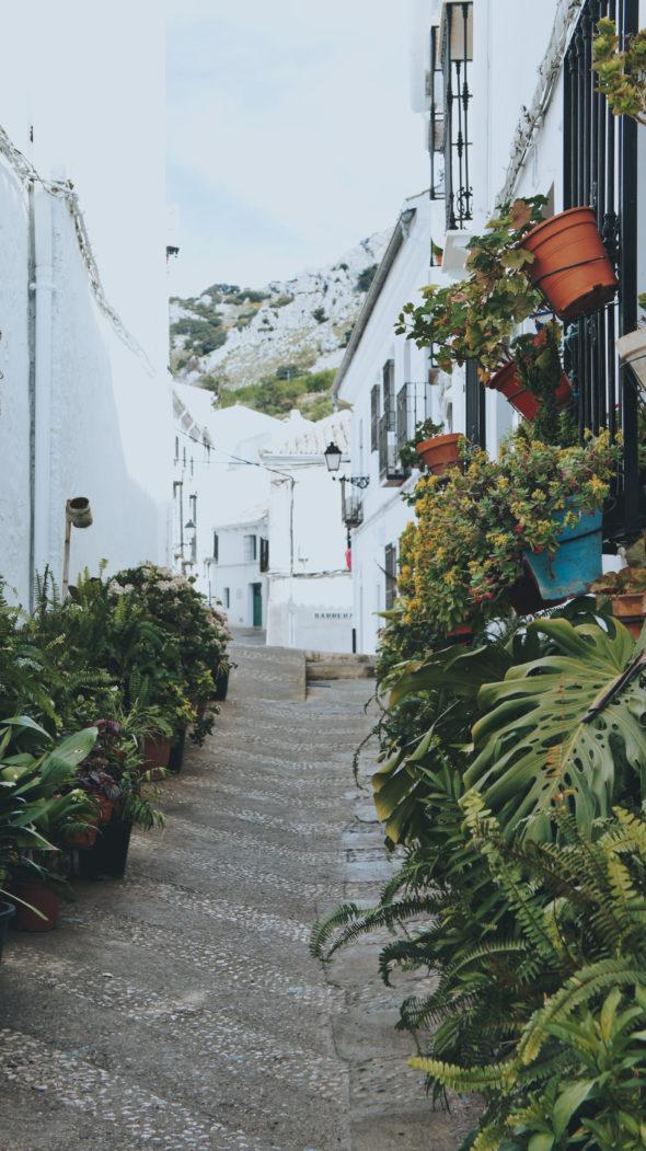Village blanc de Zuheros Andalousie