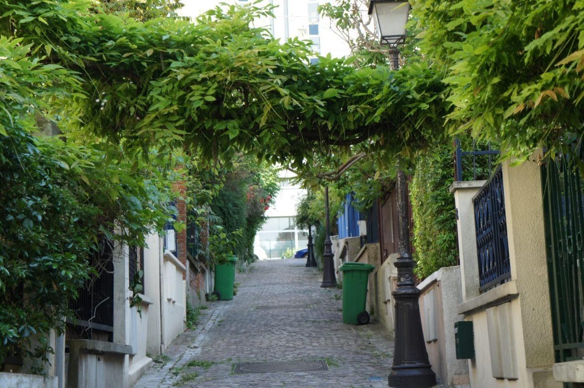 Balade champêtre dans le quartier de la Mouzaïa Paris