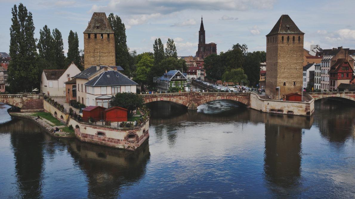 Barage Vauban à Strasbourg en Alsace