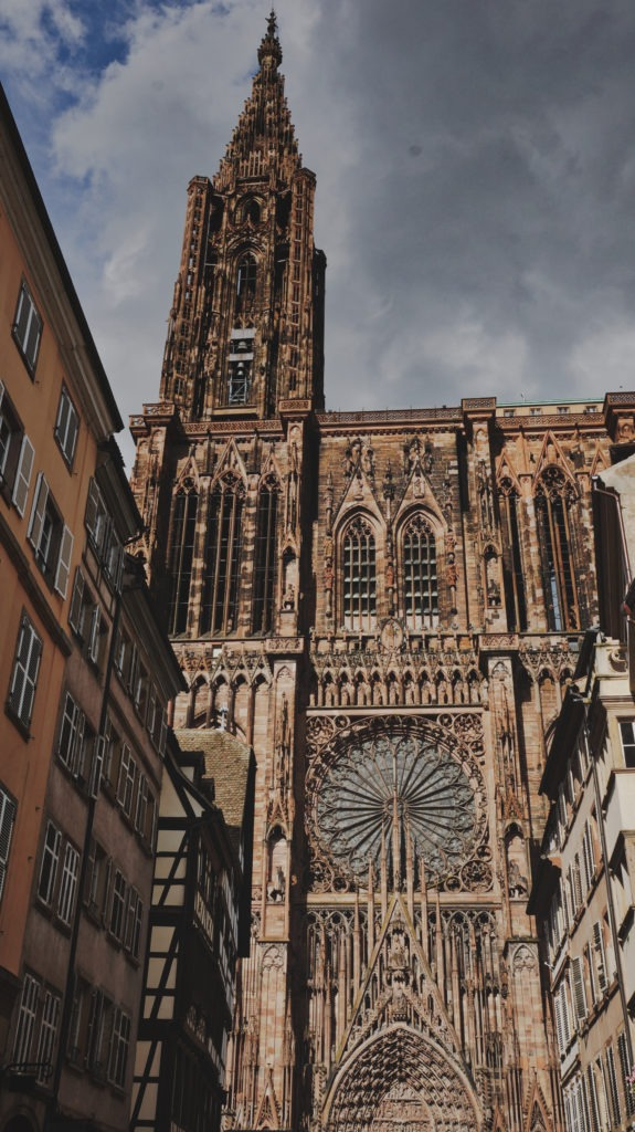 Cathédrale Notre-Dame de Strasbourg en Alsace