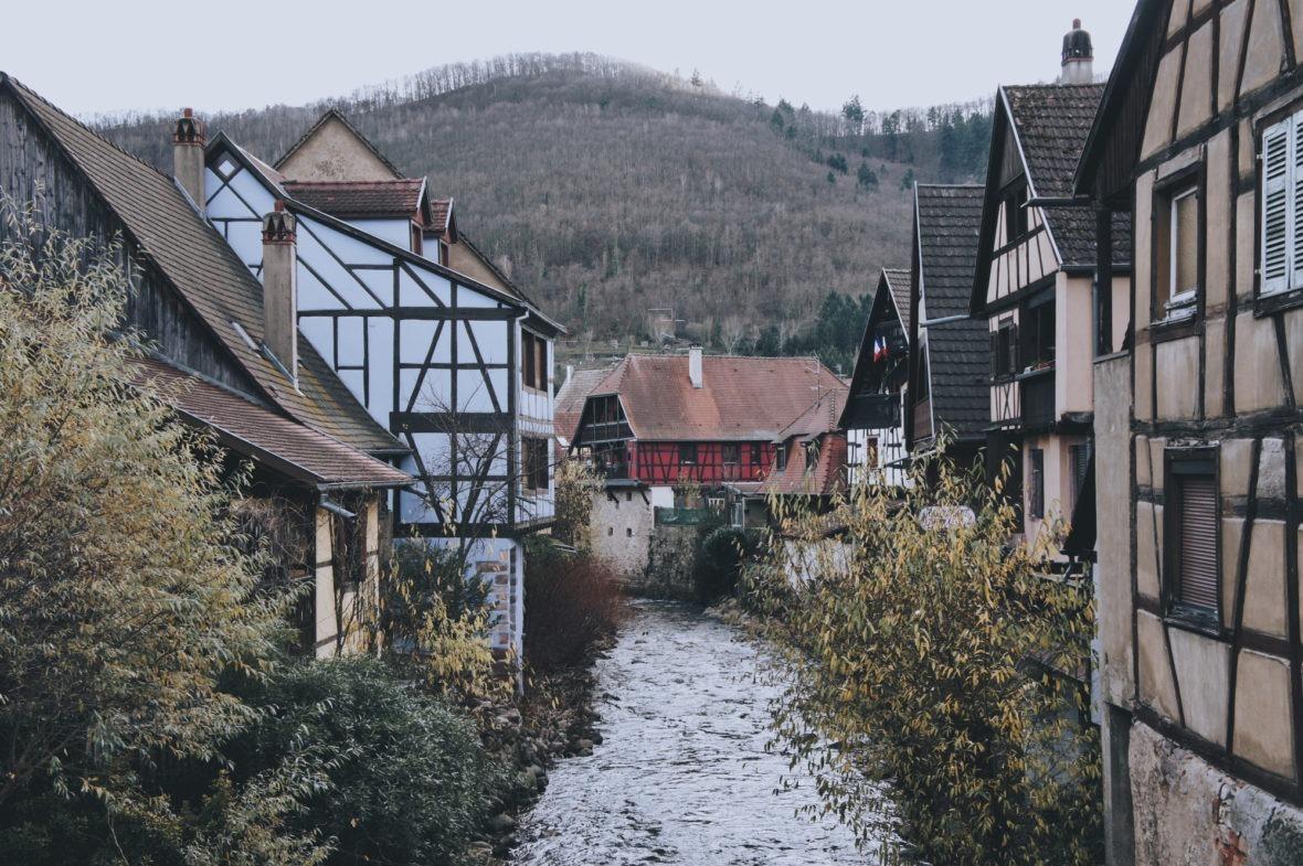 Le beau village Kaysersberg route des vins d'Alsace