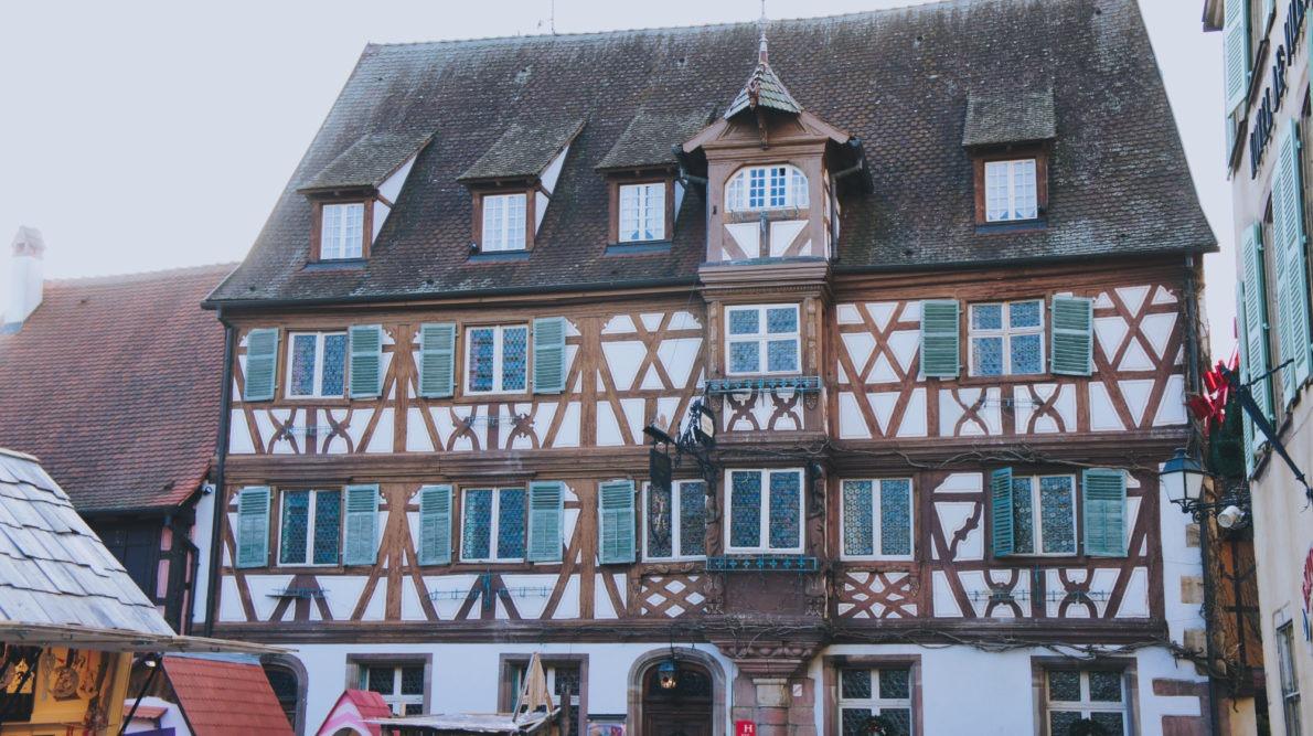 Turckheim route des vins d'Alsace