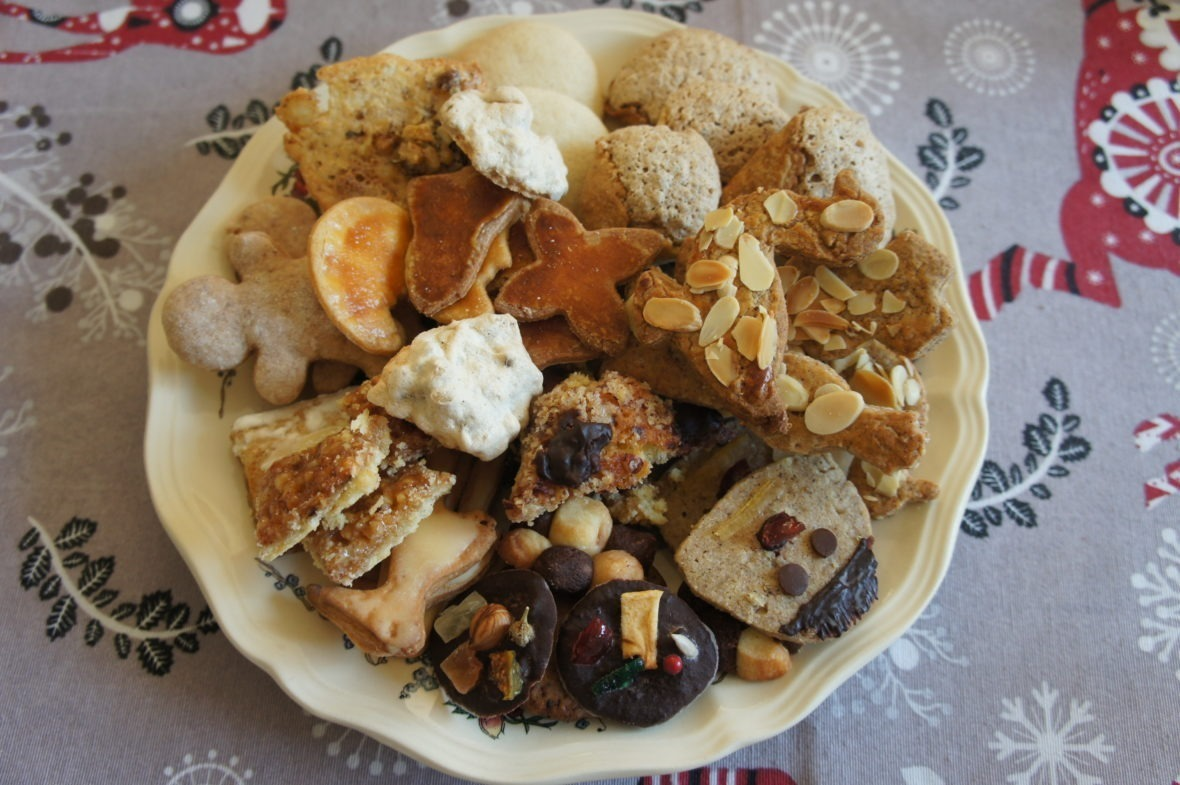 Les gâteaux de Noël alsaciens