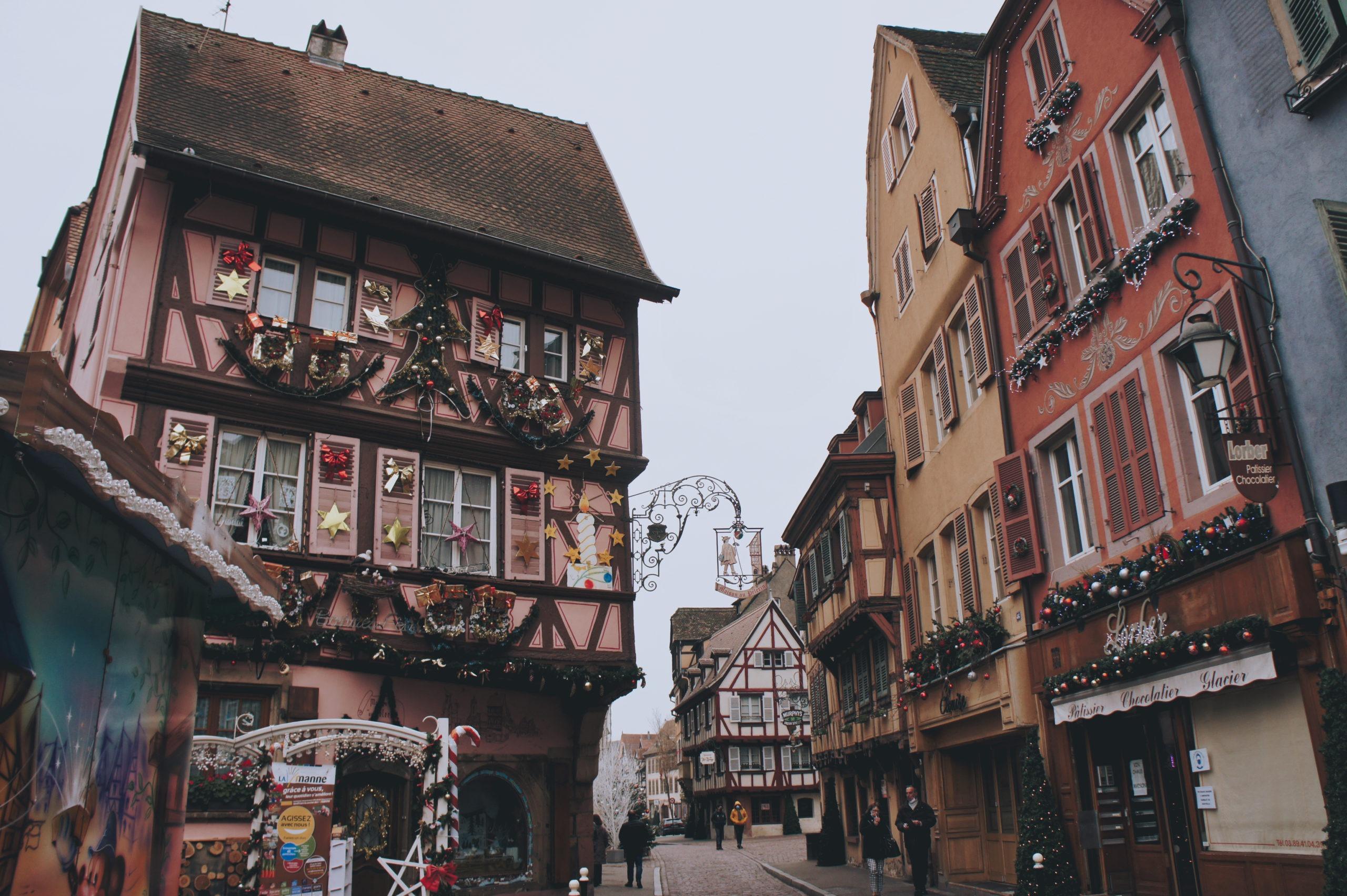 """Maison """"au pélerin"""" à Colmar"""