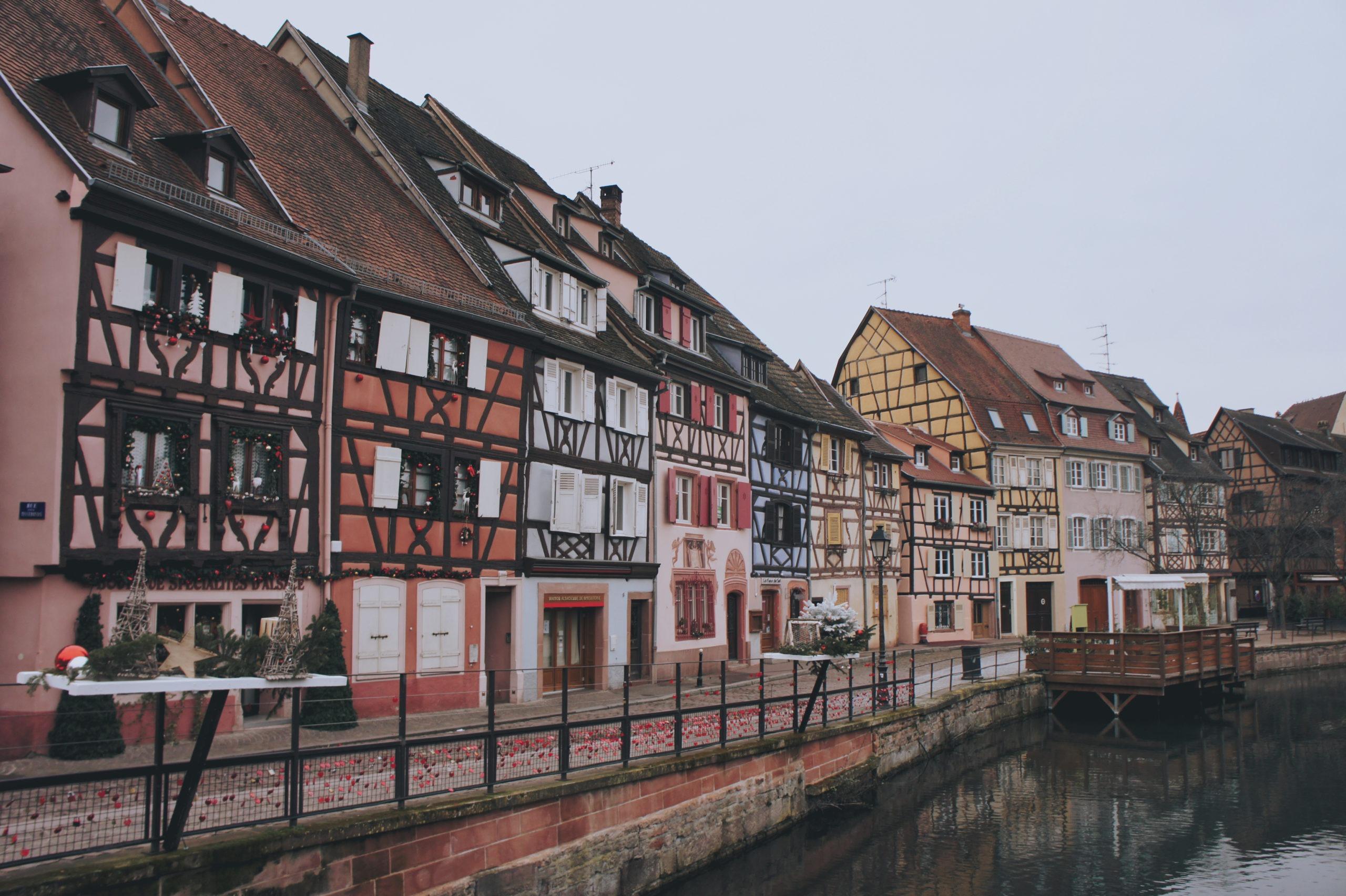 quai de la Poissonnerie à Colmar