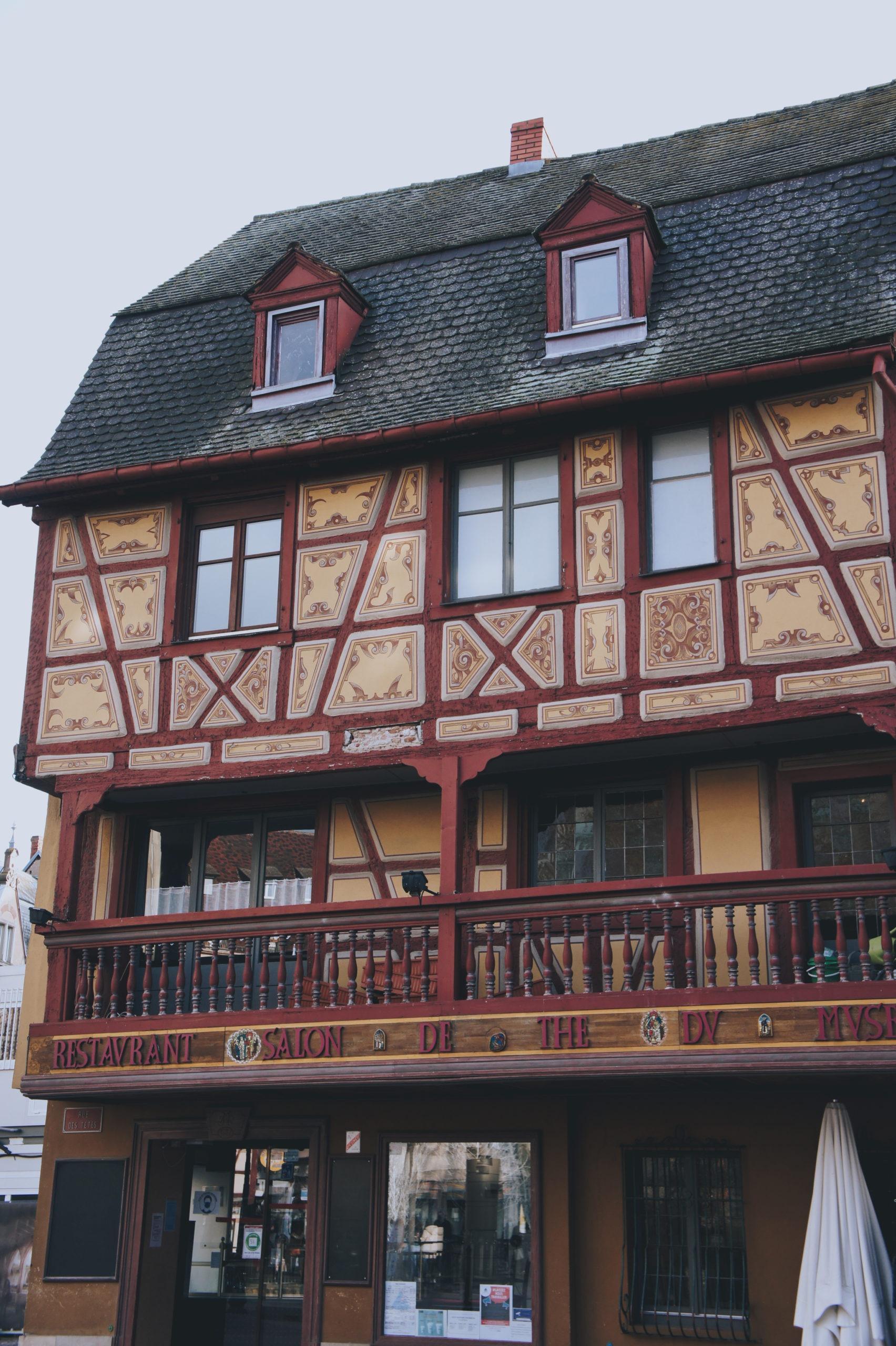 Jolie façade à Colmar