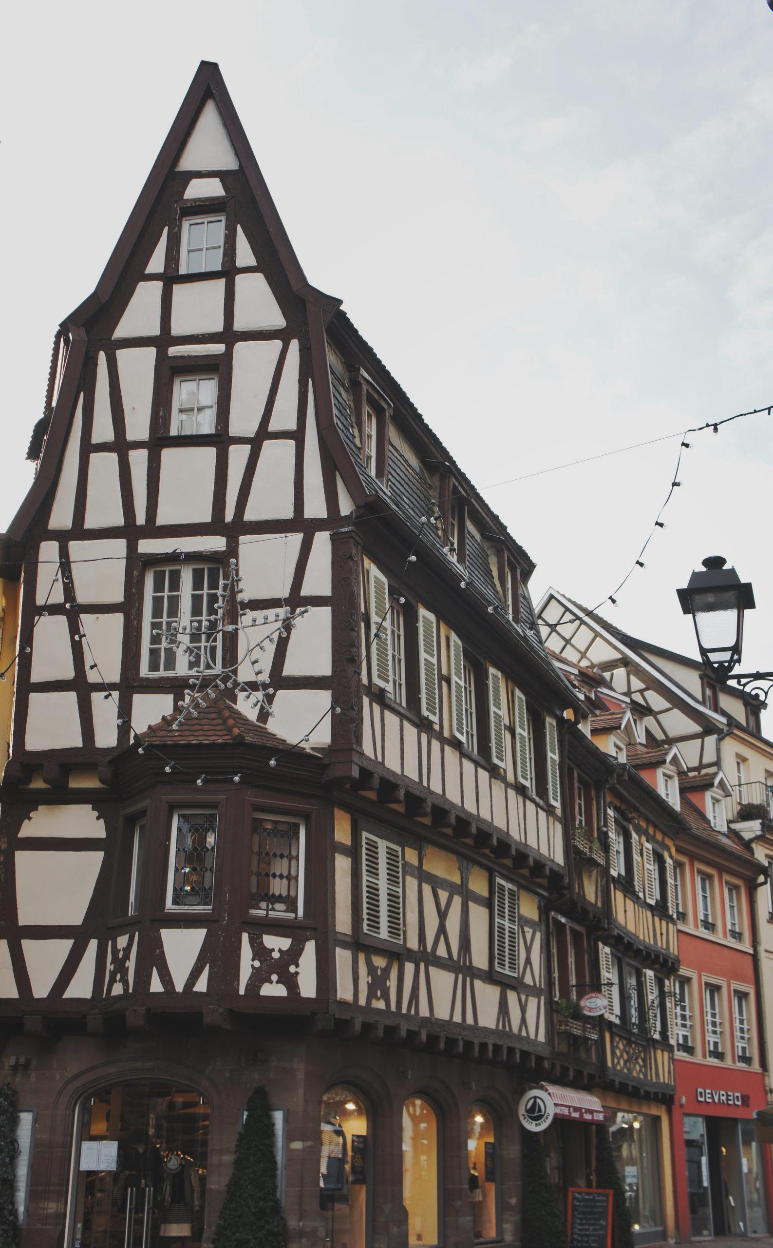 Gratte-ciel local à Colmar