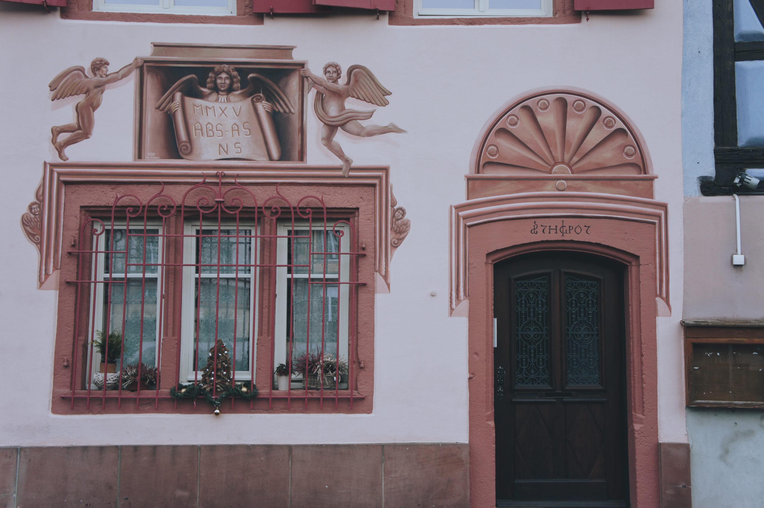 Une très belle façade du quai de la Poissonnerie à Colmar