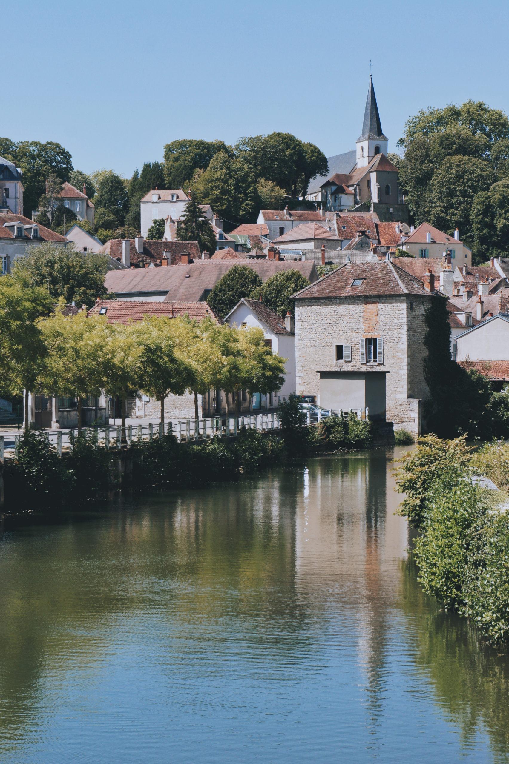 Montbard Bourgogne à vélo