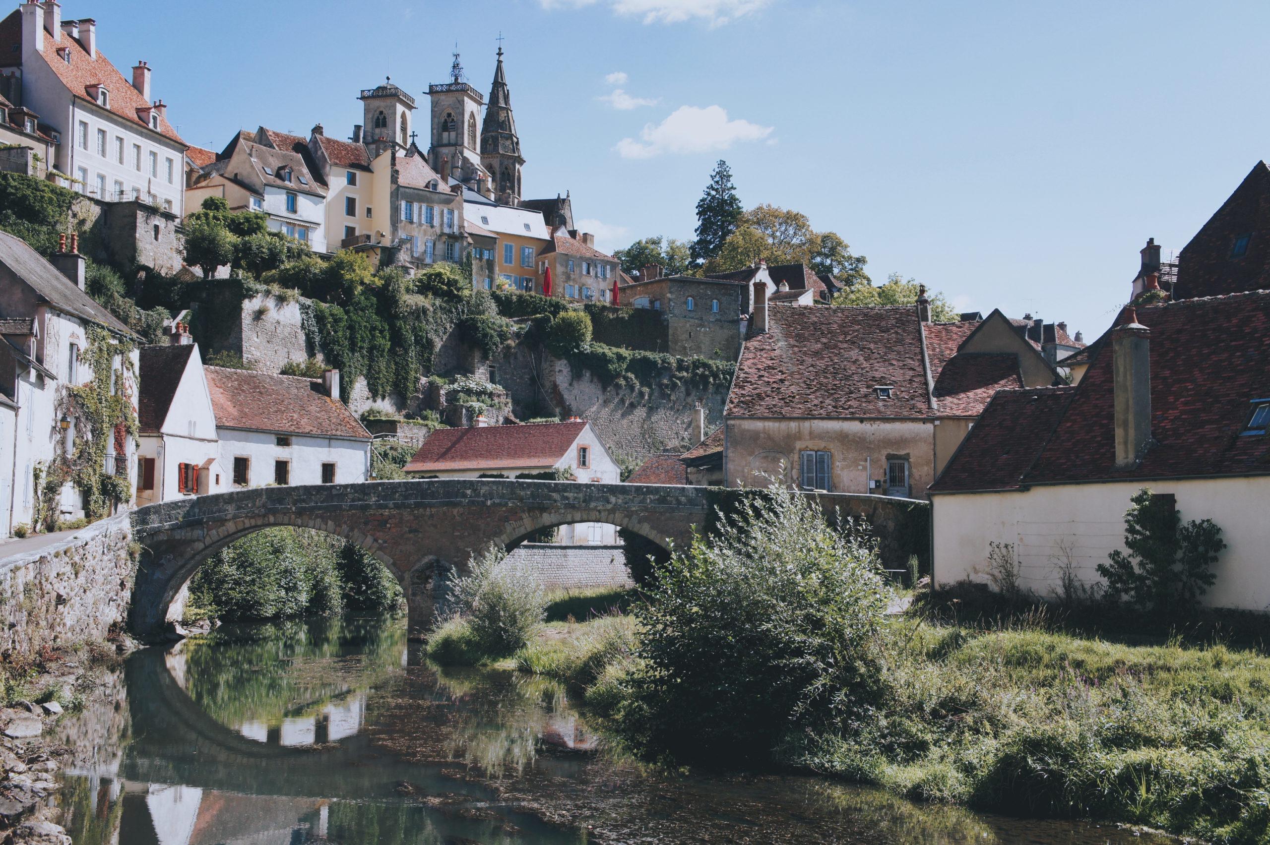Bourgogne à vélo Semur-en-Auxois