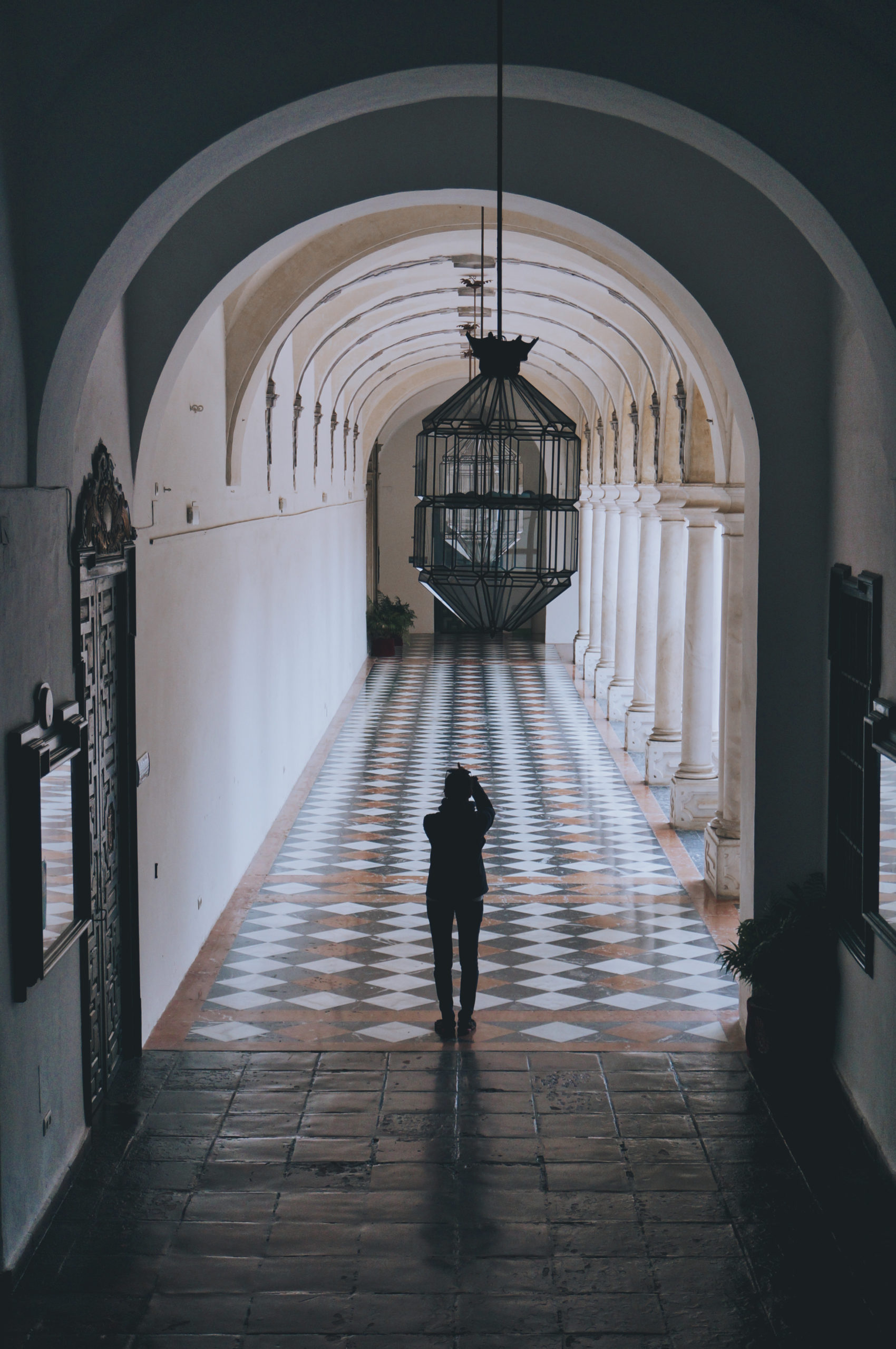 Au palais de la Merced à Cordoue