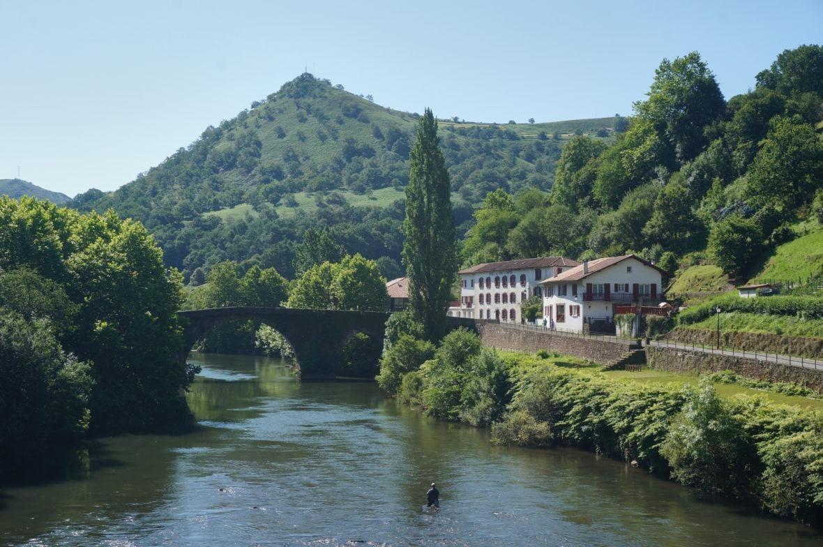 Magnifique panorama de Bidarray, pays basque