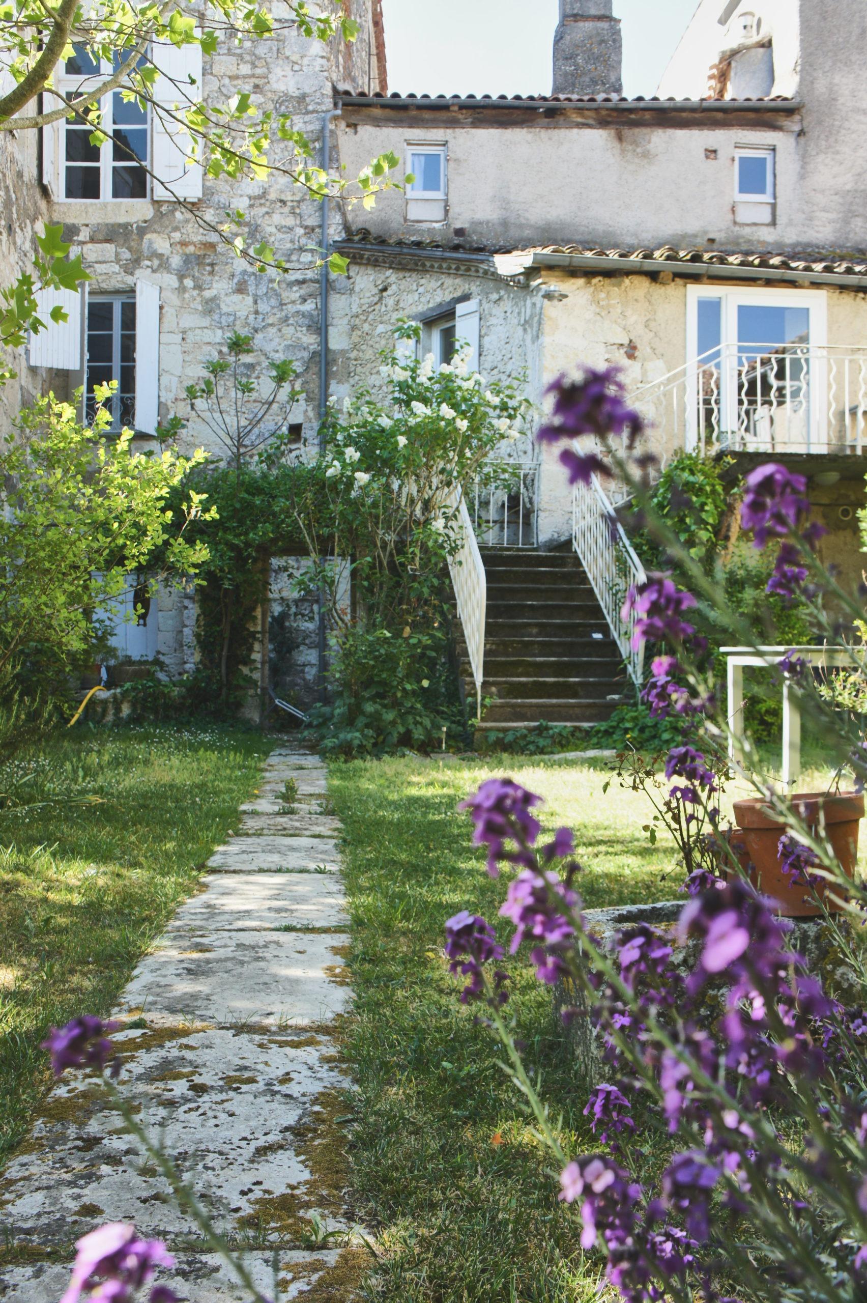 le jardin du clos Saint-Claire à Lectoure