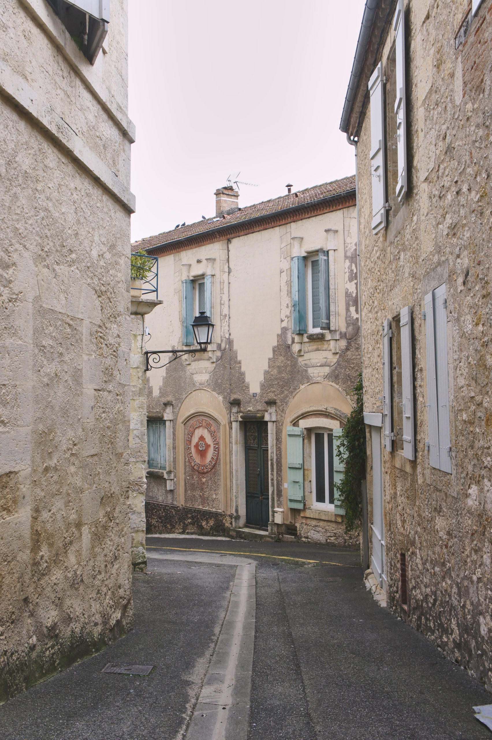 Rue des Capucins à Lectoure Gers