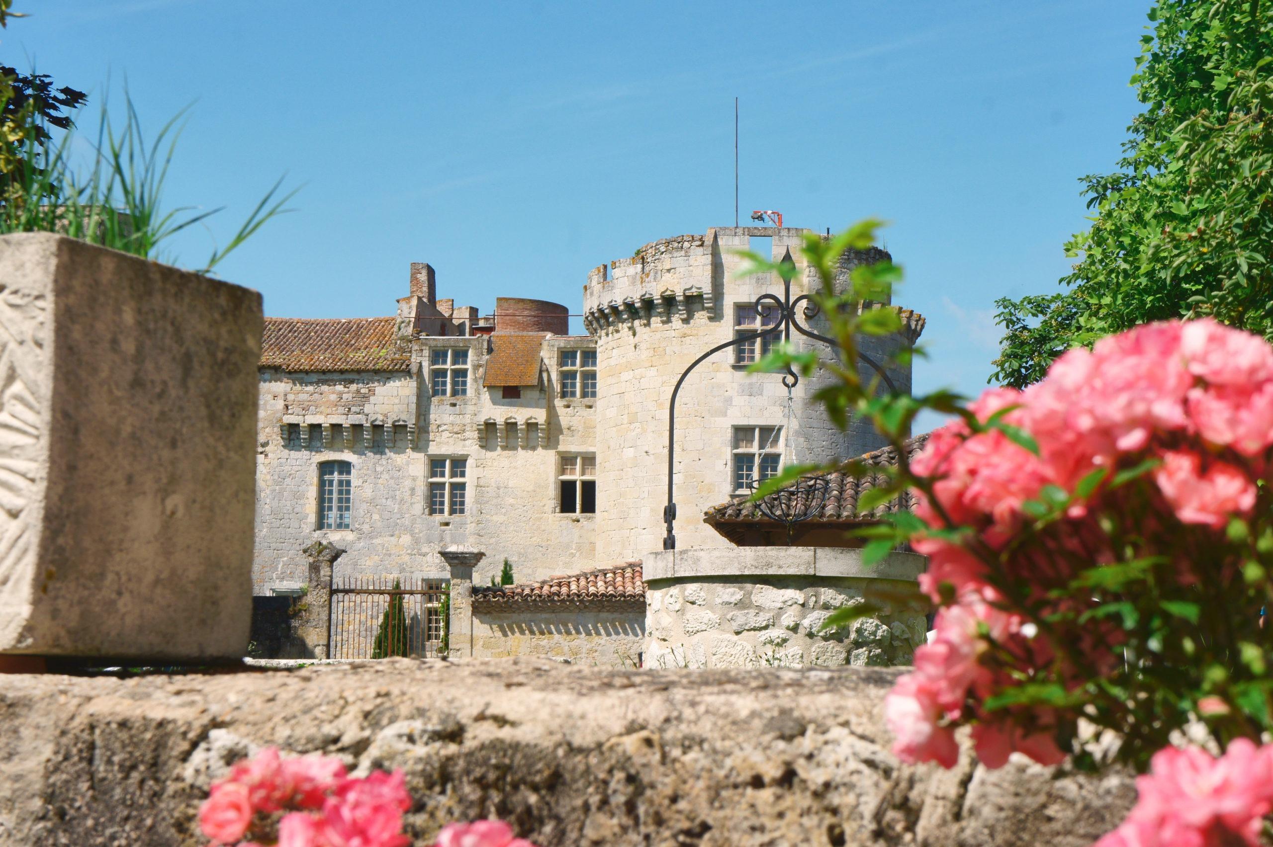 Château de Flamarens dans le Gers