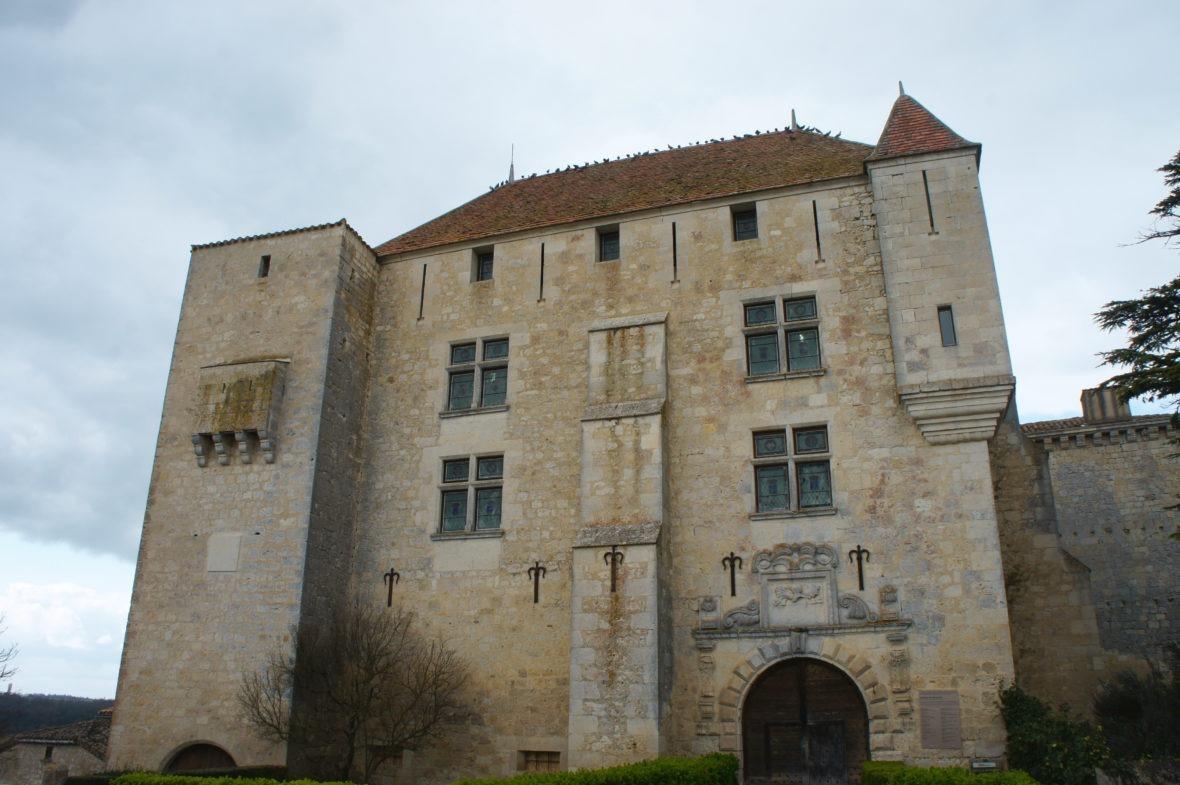 Château de Gramont, en Logmagne-Gascogne du Gers