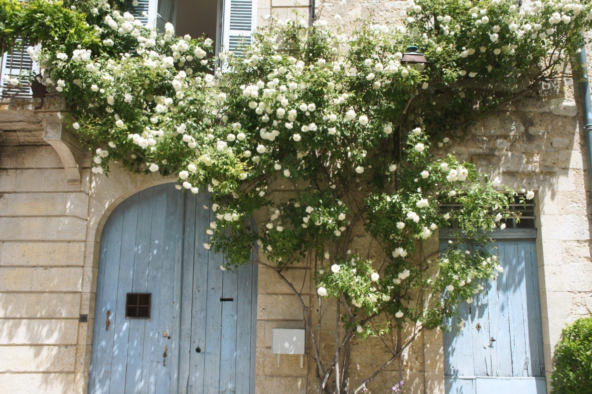 Jolie façade à La Romieu en Lomagne-Gascogne du Gers