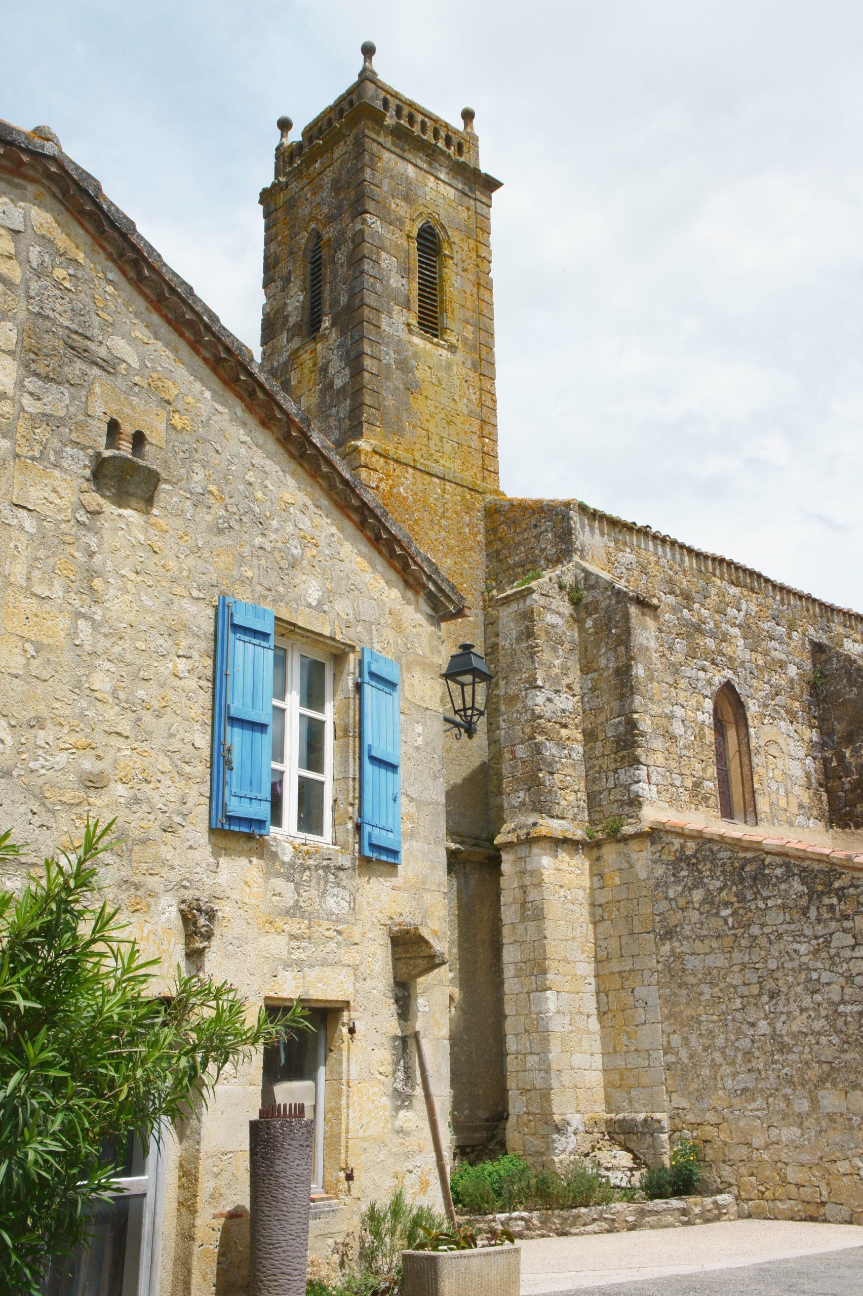 L'église de Saint-Orens-Pouy-Petit dans le Gers