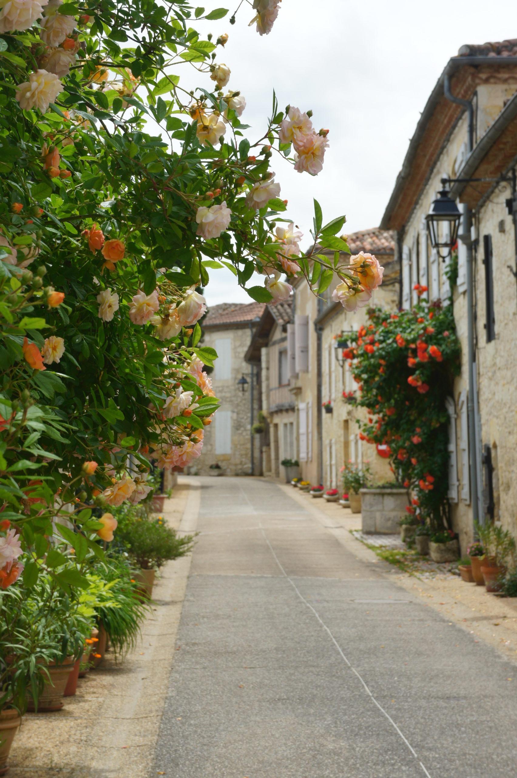 Charmant village de Blaziert en Lomagne-Gascogne du Gers