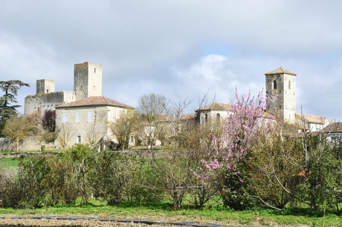 Le village de Sainte-Mère en Lomagne-Gascogne