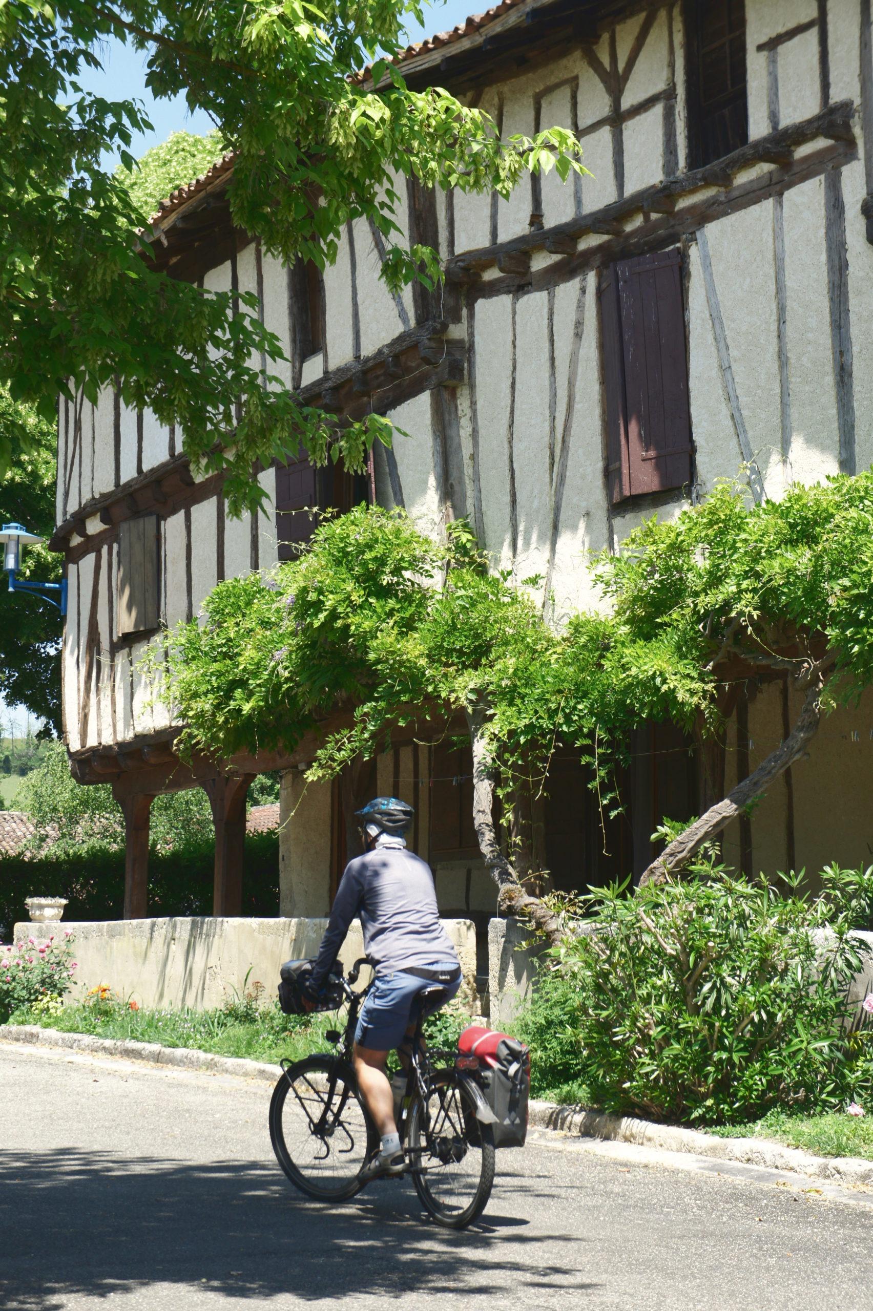 Les maisons à pans de bois de Gimbrède